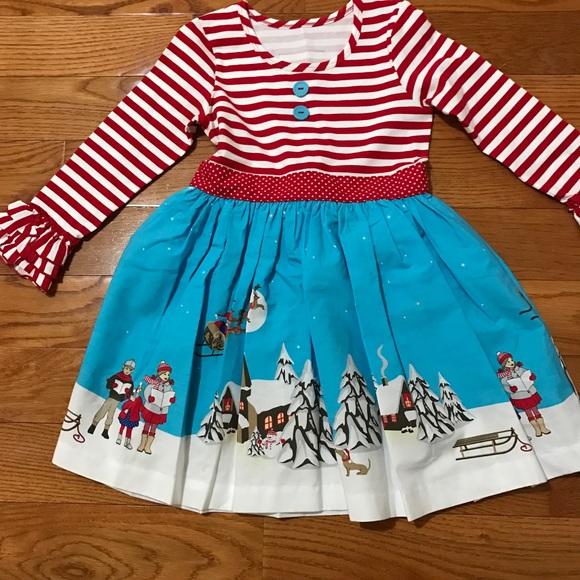 2144a0e3a10c NWOT Toddler Girls Eleanor Rose Christmas Dress. M_5a63805061ca10a1de6d7b77